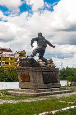 Statue in Serbia