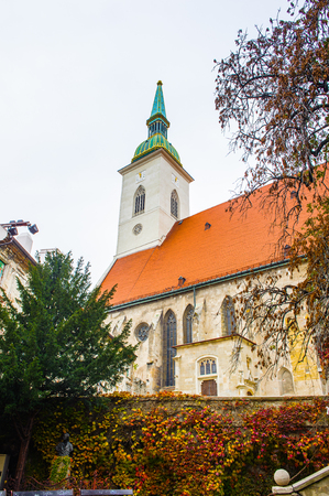 St. Martin's Cathedral, Old Town of Bratislava, Slovakia