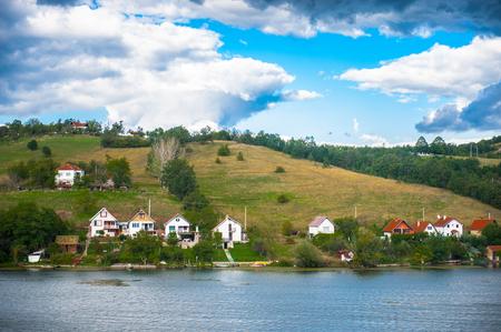 Lake in Serbia Stock Photo