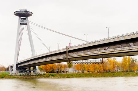 Novy most (New Bridge, Bridge of SNP – Slovak National Uprising), Bratislava, Slovakia