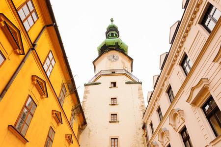St.Michael Gate, Old CIty of Bratislava, Slovakia