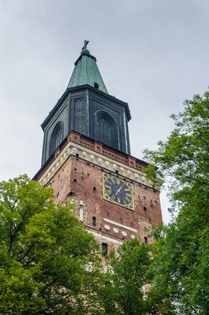 Turku Cathedral, Turku, Finland Stock Photo