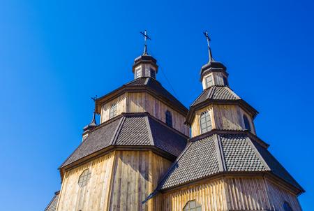 Wooden othodox church