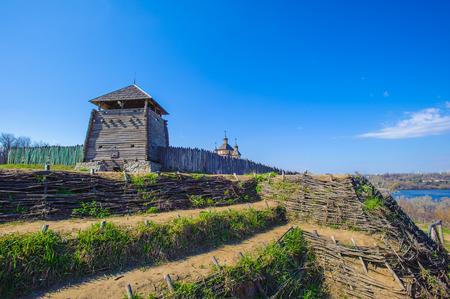 Zaporozhian Sich, Hortitsia, Ukraine Stock Photo