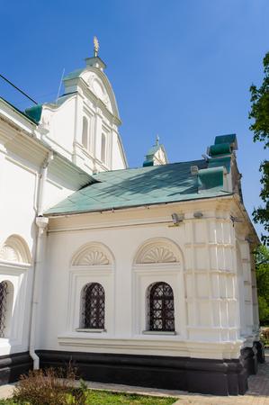 Church on the territory of the Kiev Pechersk Lavra, Ukraine