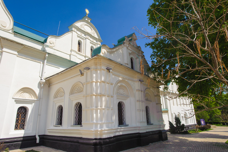 Orthodox church on the territory of the Monastery of Caves, Ukraine