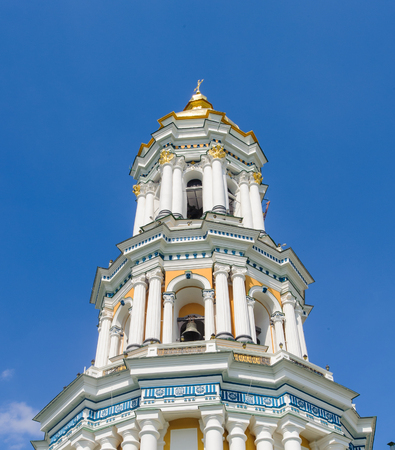 Great Lavra Bell Tower or the Great Belfry, Kiev, Ukraine. Banque d'images