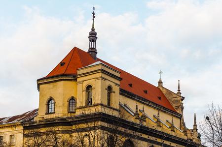 Old town of Lviv architecture, Western Ukraine