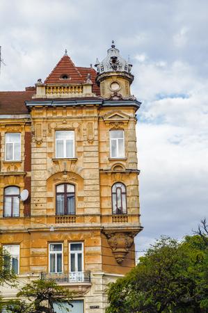 Architecture of Lvov, Western Ukraine Editorial