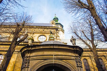 Bernardine church, Lviv, Ukraine.