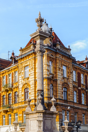 Architecture of Lvov, Ukraine
