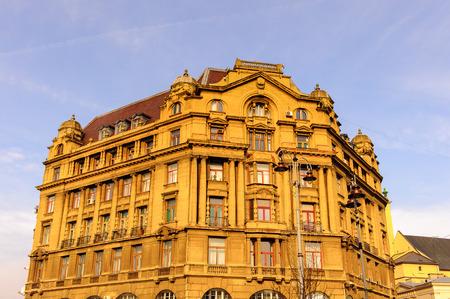 Architecture of Western Ukraine Stock Photo
