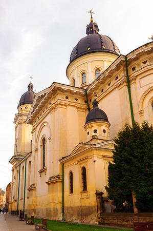 Trasfiguration Church on the north of the Rynok Square, Lviv, Western Ukraine Editorial
