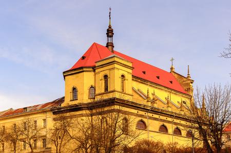 Jesuit Church, Historic Centre of Lviv, Ukraine.