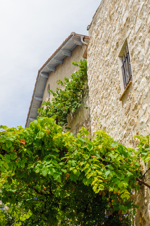 Beautiful antique houses of Saint Paul de Vence
