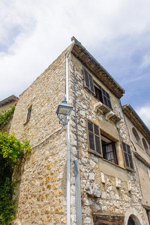 Beautiful antique houses of Saint Paul de Vence
