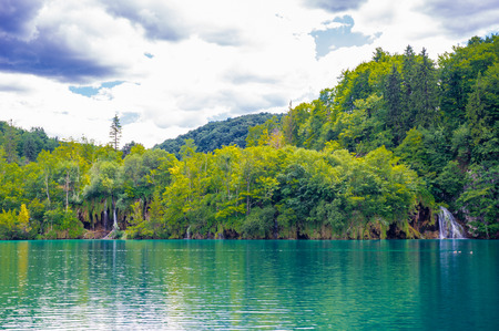 Plitvice Lakes National Park, the largest national park in Croatia,