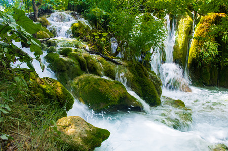 Plitvice Lakes National Park, the largest national park in Croatia, UNESCO World Heritage
