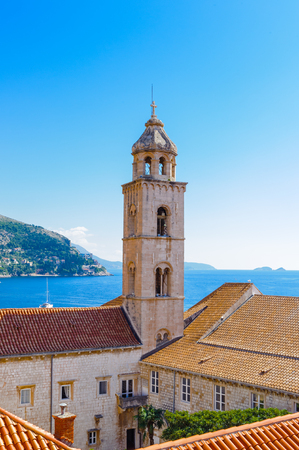 Beautiful view of Dubrovnik (Croatia), city on the Adriatic Sea,