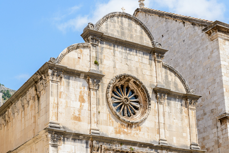 Church in the Old Town of Dubrovnik, Croatia