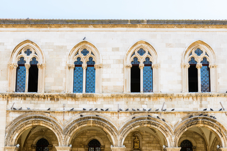Church of St. Blaise (Sveti Vlaho) in the Old Town of Dubrovnik, Croatia 스톡 콘텐츠