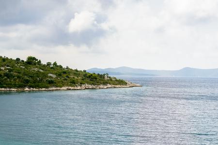 Beautiful landscape of Croatia, mountains and Adriatic Sea Stock fotó