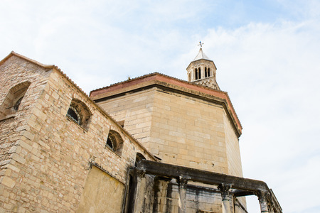 Cathedral of Saint Domnius, he Catholic cathedral in Split, Croatia.