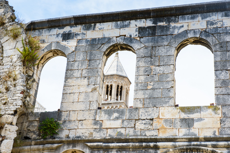 Silver gate,  east entrance of the Diocletians Palace in Split, Croatia