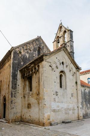Houses in the Historic City of Trogir, Croatia.