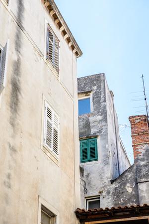 Architecture of the Old Town of Sibenik, Croatia
