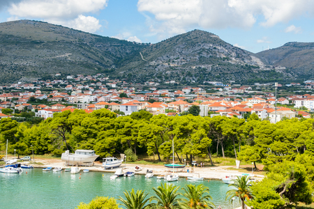 Nature of Dalmatia, region of Trogir