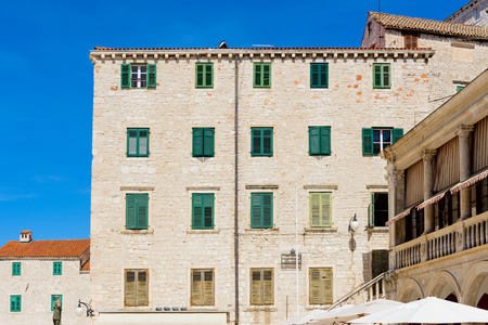 House of the Old Town of Sibenik, Croatia