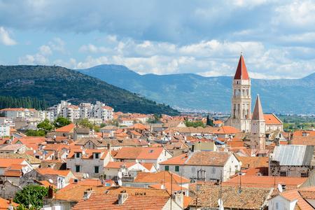 Panoramic view of Historic City of Trogir, Croatia.