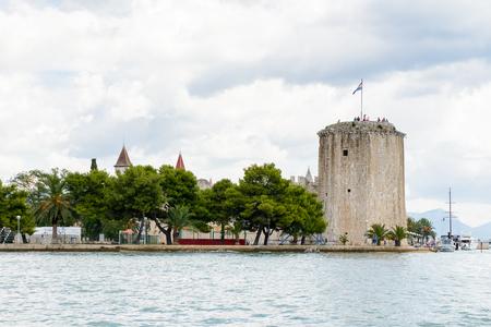 Kamerlengo (Gradina Kamerlengo), a castle and fortress in Trogir, Croatia. It was built by the Republic of Venice