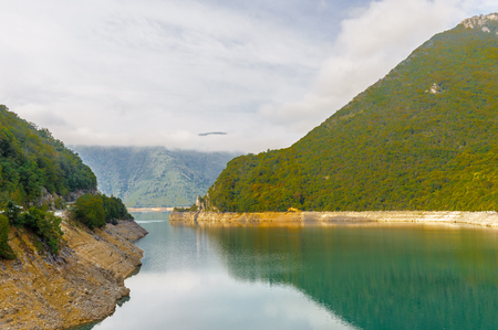 Piva, a river in Montenegro and Bosnia and Herzegovina and the rocks of Montenegro