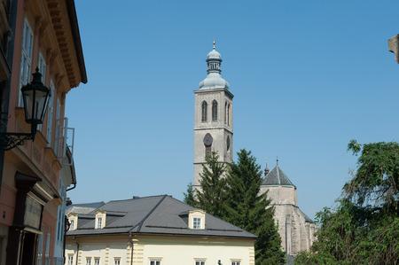 Old Church of St. Jacob, Kutna Hora, Czech Republica