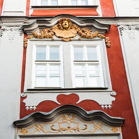 Architecture in the centre of Prague, Czech Republic
