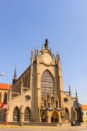 The Church of the Assumption of Our Lady and Saint John the Baptist is a baroque-style church north-east of Kutná Hora in the Czech Republic