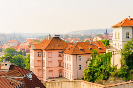 Prague in the afternoon