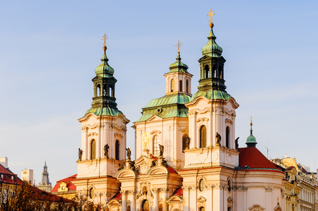 Saint Nicholas church in Prague, Czech Republic