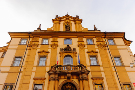 Architecture of Stare Mesto, Old Town of Prague, near the Charles Bridge, Prague, Czech Republic