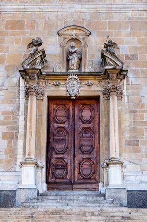 Old church in Bellinzona, Switzerland Stock Photo