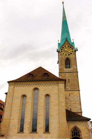 Fraumunster church, Zurich, Switzerland