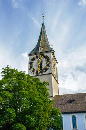 Clock tower, Zurich Switzeland