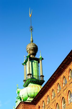 Stockholm City Hall, Sweden. Stock Photo