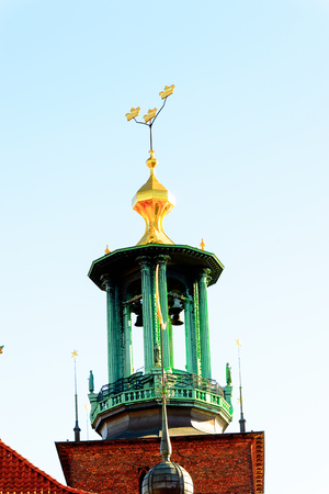 Stockholm City Hall, Sweden. Editorial