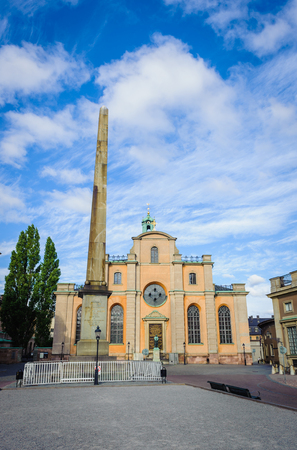 Saint Nicholas church, Galma stan, Old town of Stockholm, Sweden