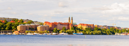 Stockholm, the capital and the largest city of Sweden, Scandinavia Stock Photo