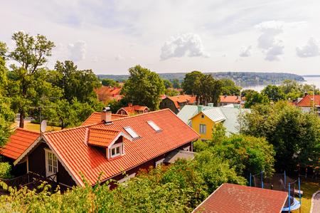 Cityscape of Sigtuna, Sweden