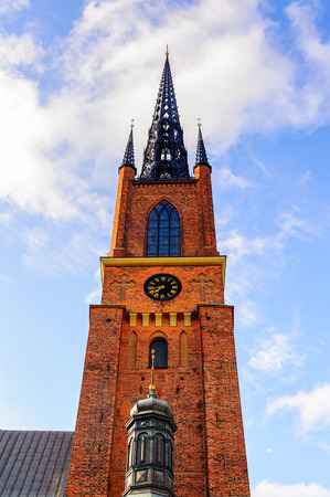 Riddarholm Church, Riddarholmen (The Knights Islet), Old town, Stockholm, Sweden.
